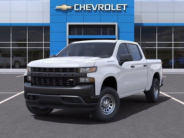2021 Chevrolet Silverado 1500 Crew Cab 4x2, Pickup #CM22048 - photo 6