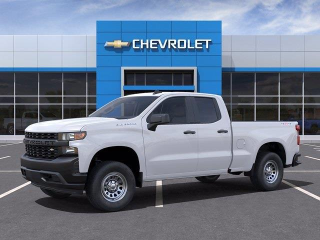 2021 Chevrolet Silverado 1500 Double Cab 4x4, Pickup #CM35794 - photo 3