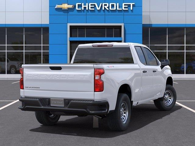 2021 Chevrolet Silverado 1500 Double Cab 4x4, Pickup #CM35794 - photo 2