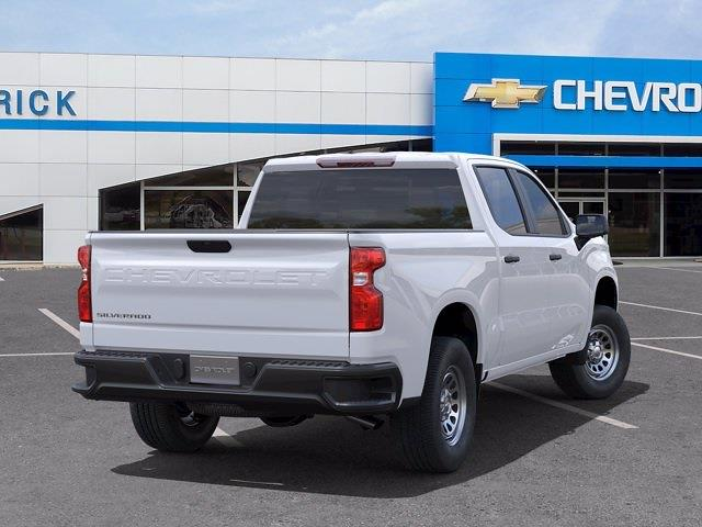 2021 Chevrolet Silverado 1500 Crew Cab 4x2, Pickup #CM36094 - photo 1