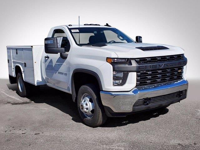 2021 Chevrolet Silverado 3500 Regular Cab 4x2, Knapheide Steel Service Body #CM40231 - photo 3