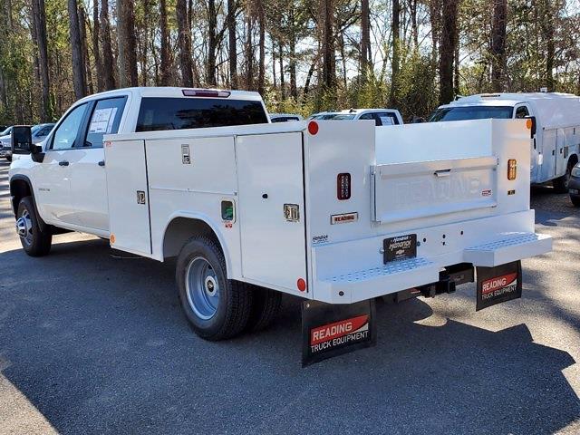 2021 Chevrolet Silverado 3500 Crew Cab 4x4, Reading Service Body #CM94561 - photo 6