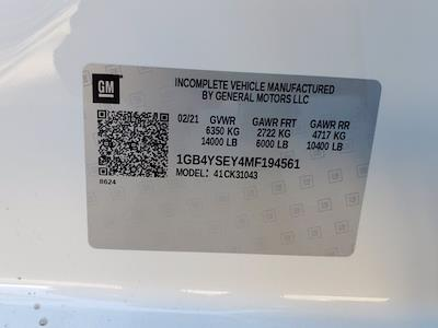 2021 Chevrolet Silverado 3500 Crew Cab 4x4, Reading Service Body #CM94561 - photo 37