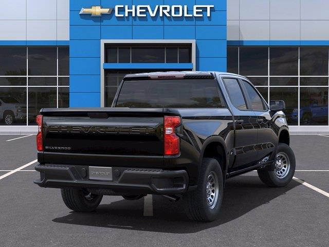 2021 Chevrolet Silverado 1500 Crew Cab 4x2, Pickup #CM98421 - photo 2