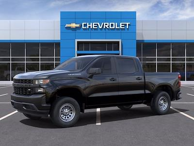 2021 Chevrolet Silverado 1500 Crew Cab 4x2, Pickup #CM98421 - photo 3