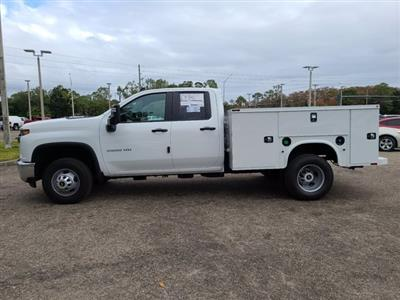 2021 Chevrolet Silverado 3500 Double Cab 4x4, Knapheide Service Body #DM23462 - photo 11