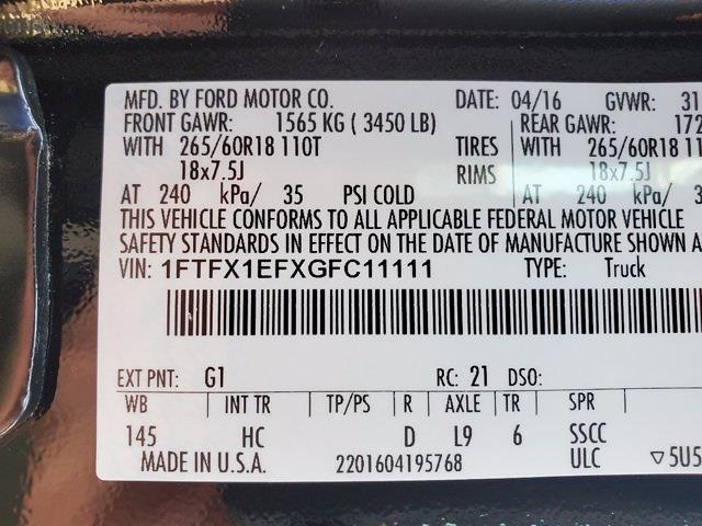 2016 F-150 Super Cab 4x4,  Pickup #M73846A - photo 33