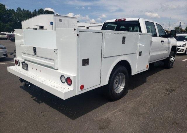 2019 Chevrolet Silverado 3500 Crew Cab 4x4, Warner Select Pro Service Body #CM94561A - photo 2