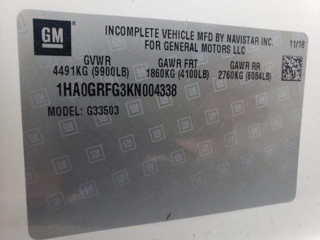 2019 Express 3500 4x2,  Knapheide KUV Service Utility Van #MN004338 - photo 32