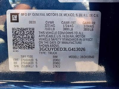 2020 Chevrolet Silverado 1500 Crew Cab 4x4, Pickup #PS51056 - photo 32