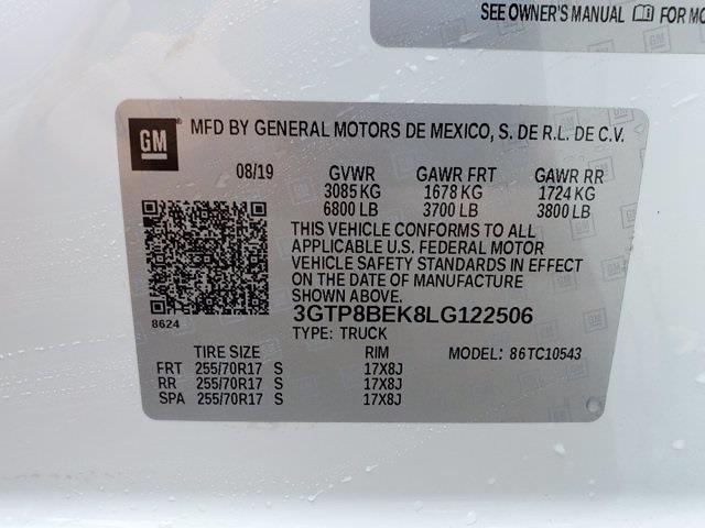 2020 GMC Sierra 1500 Crew Cab 4x2, Pickup #PS51073 - photo 33