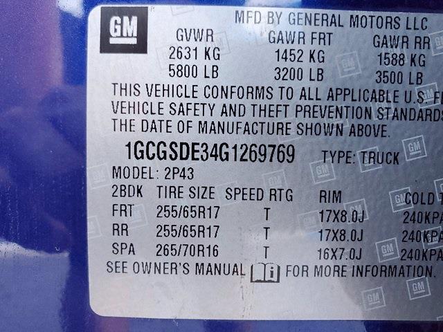 2016 Chevrolet Colorado Crew Cab 4x2, Pickup #PS51090 - photo 35
