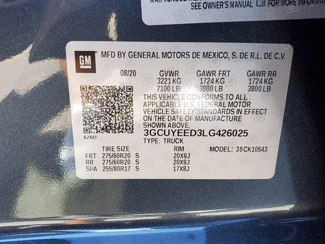 2020 Chevrolet Silverado 1500 Crew Cab 4x4, Pickup #PS51187 - photo 34