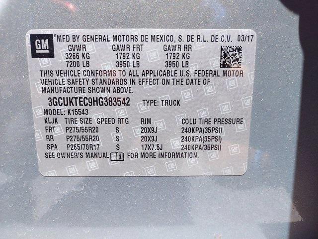 2017 Chevrolet Silverado 1500 Crew Cab 4x4, Pickup #SA51044 - photo 35
