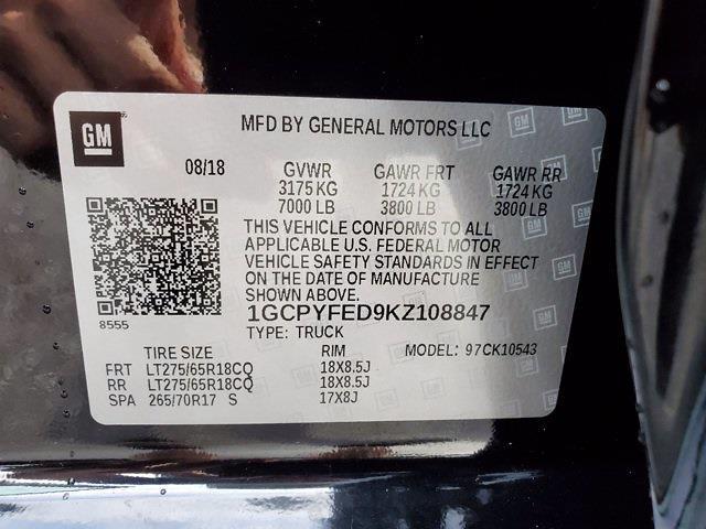 2019 Chevrolet Silverado 1500 Crew Cab 4x4, Pickup #SA51153 - photo 35