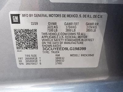 2020 Chevrolet Silverado 1500 Crew Cab 4x4, Pickup #SA51162 - photo 34