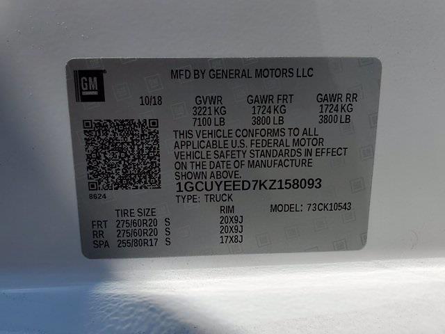 2019 Chevrolet Silverado 1500 Crew Cab 4x4, Pickup #SA51184 - photo 36