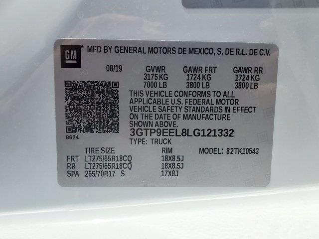 2020 GMC Sierra 1500 Crew Cab 4x4, Pickup #XH51152 - photo 38