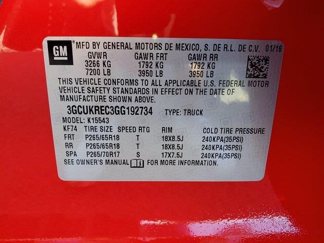 2016 Chevrolet Silverado 1500 Crew Cab 4x4, Pickup #XH51216 - photo 33