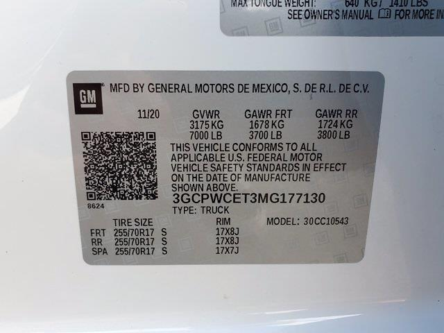 2021 Silverado 1500 Crew Cab 4x2,  Pickup #XH51398 - photo 37