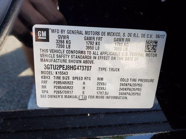 2017 GMC Sierra 1500 Crew Cab 4x4, Pickup #XR51142 - photo 34