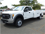 2017 F550 SuperCab 4x2 XL w/11' Utility Body #170471 - photo 1
