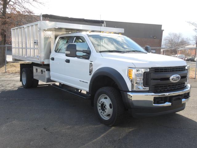 2017 F450 Crew Cab 4x4 XL w/12' Aluminum Dump Body #170914 - photo 4