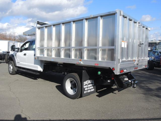 2017 F450 Crew Cab 4x4 XL w/12' Aluminum Dump Body #170914 - photo 2