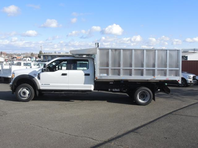 2017 F450 Crew Cab 4x4 XL w/12' Aluminum Dump Body #170914 - photo 7