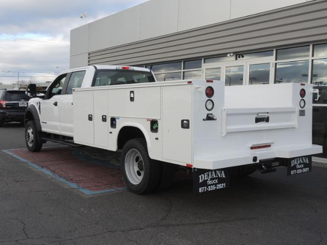 2017 F450 Crew Cab 4x2 XL w/11' Utility Body #170962 - photo 2