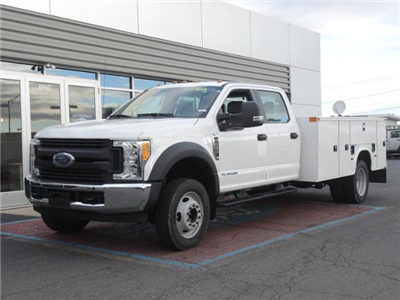 2017 F450 Crew Cab 4x2 XL w/11' Utility Body #170962 - photo 1