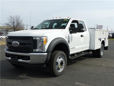 2017 F450 SuperCab 4x2 XL w/9' Utility Body #171252 - photo 1