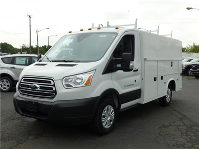 2017 T350 Transit Cutaway w/11' Utility Body #171910 - photo 1