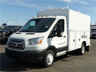 2017 T350 Transit Cutaway w/11' Aluminum Utility Body #172092 - photo 1
