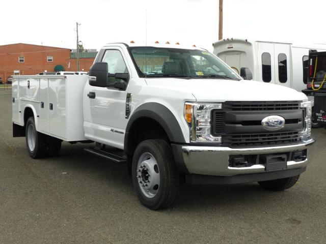 2017 F550 Reg Cab 4x2 XL w/11' Utility Body #172095 - photo 4