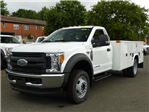 2017 F550 Reg Cab 4x2 XL w/11' Utility Body #172095 - photo 1