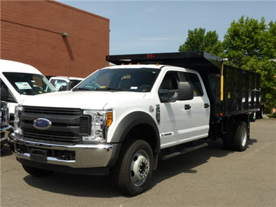 2017 F450 Crew Cab 4x2 XL w/12' Landscape Dump Body #172171 - photo 1