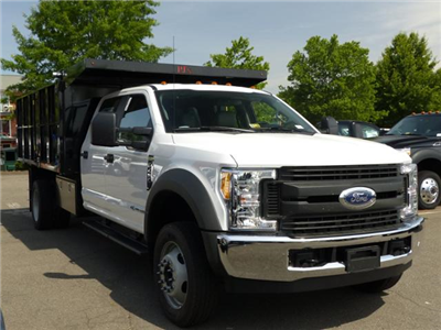 2017 F450 Crew Cab 4x2 XL w/12' Landscape Dump Body #172171 - photo 4