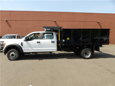 2017 F450 Crew Cab 4x2 XL w/12' Landscape Dump Body #172171 - photo 7