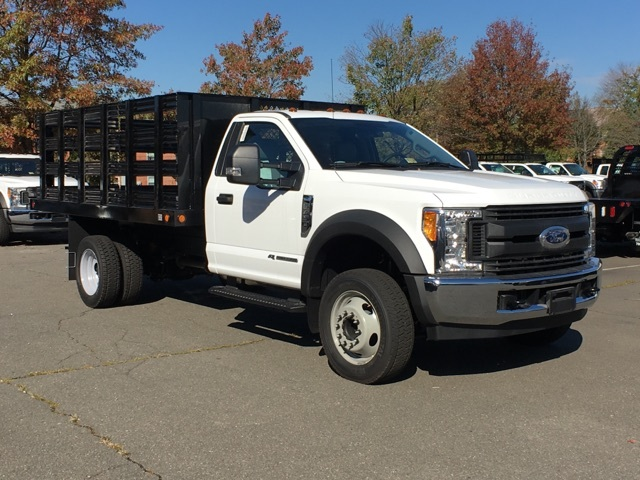 2017 F450 2WD Reg Cab w/ 12' Stake Body #173064 - photo 4