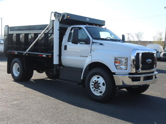 2017 F750 Reg Cab 33,000 GVWR 182 WB w/12' Dump Body #T17065 - photo 4