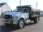 2017 F750 Reg Cab 33,000 GVWR 182 WB w/12' Dump Body #T17065 - photo 1