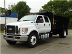 2017 F650 SuperCab 25,999 GVWR 236 WB w/16' Landscape Dump Body #T17094 - photo 1