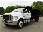 2017 F650 SuperCab 25,999 GVWR 236 WB w/16' Landscape Dump Body #T17095 - photo 1
