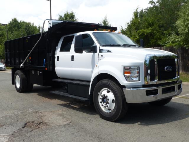 2017 F650 Crew Cab 25,999 GVWR 236 WB w/16' Landscape Dump Body #T17107 - photo 4