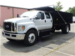 2017 F650 Crew Cab 25,999 GVWR 236 WB w/16' Landscape Dump Body #T17107 - photo 1