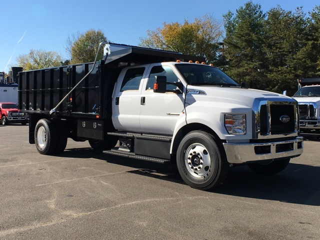 2017 F650 Crew Cab XL 25,999 GVWR w/ 16' Landscape Dump #T17124 - photo 4