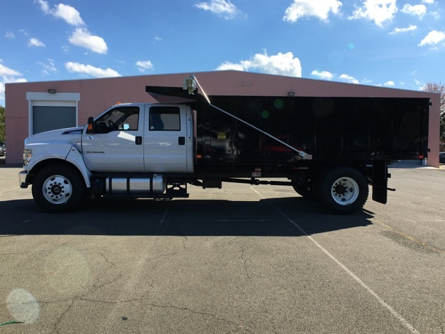 2017 F650 Crew Cab XL 25,999 GVWR w/ 16' Landscape Dump #T17124 - photo 7