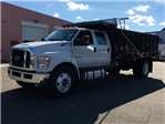 2017 F650 Crew Cab XL 25,999 GVWR w/ 16' Landscape Dump #T17124 - photo 1