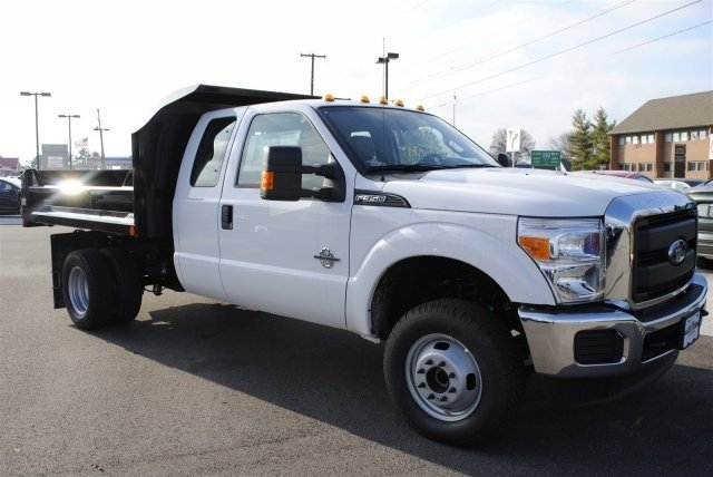 2016 F-350 Super Cab DRW 4x4, Crysteel Dump Body #EA67552 - photo 4